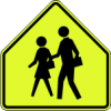 S1-1 Advanced School Crossing Sign